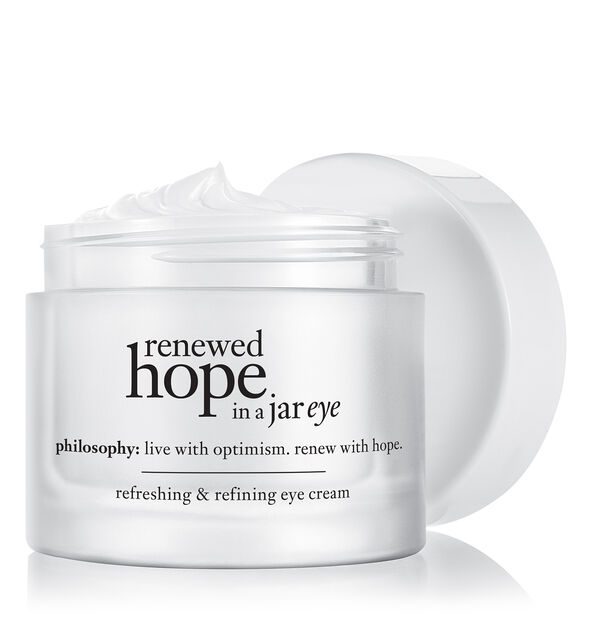 renewed hope in a jar eye