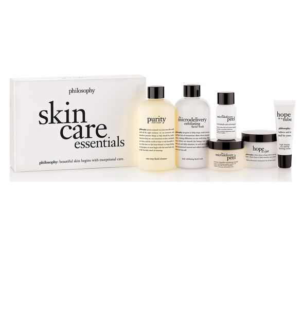 philosophy skin care essentials