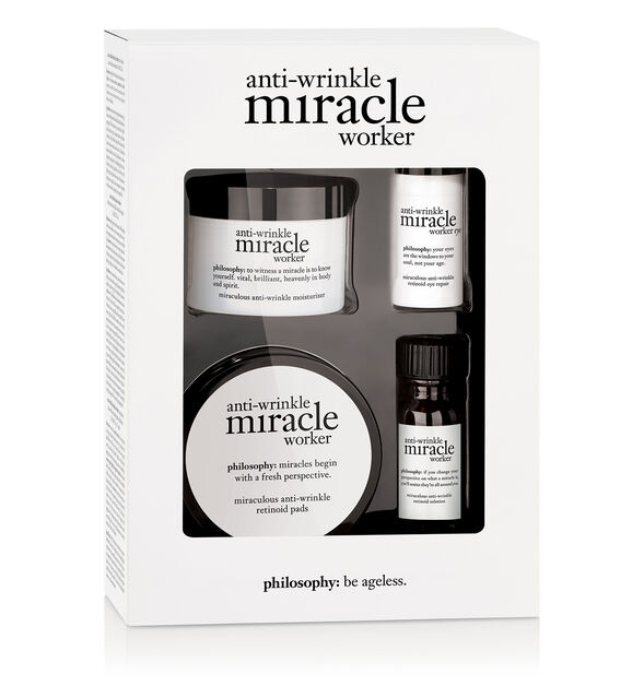 miracle worker miraculous anti-aging trio