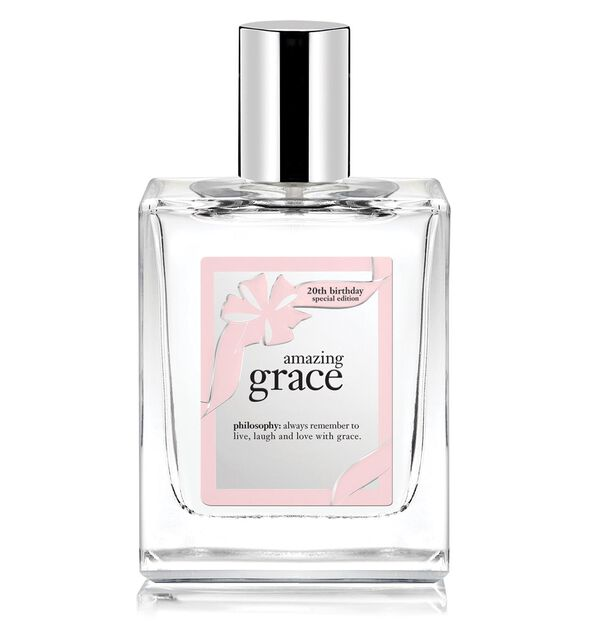 amazing grace 20th birthday special edition spray fragrance