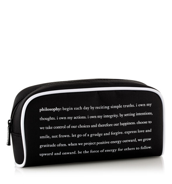 philosophy toiletry bag