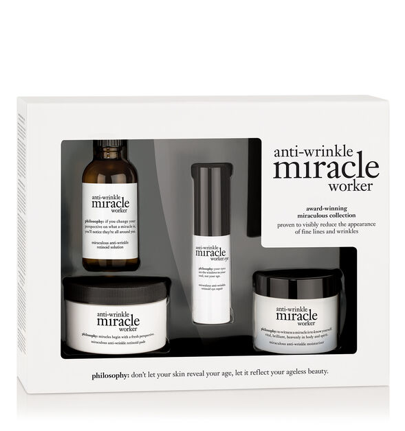 anti-wrinkle miracle worker award-winning miraculous collection